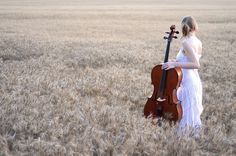 The cello is such a romantic looking instrument