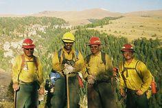 Wildland Firefighters, #BoardOfMan thanks you.