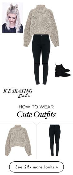 """Cute but still casual "" by aleen-diaz on Polyvore featuring Isabel Marant, TOMS and iceskatingoutfit"