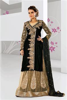 Floor Touch Black,Cream Net Suit