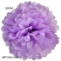 34 Colors 4inch (10cm) Small Size Tissue Paper Pom Pom Flower Rose Ball Hanging Wedding Party Decorations