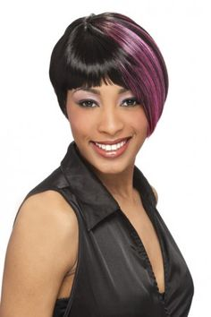 Peluca sintética corta - Riana - Harlem 125 - Color 1