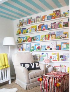 Love this idea for a bonus/kids room