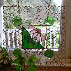 855 best spiderwoodhollow images on pinterest copper wire spider square wire art panel with green gems and pink flower handmade one of a kind window treatment sun catcher house warming gift unique gift mightylinksfo
