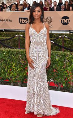Zuri Hall from SAG Awards 2016: Red Carpet Arrivals | E! Online