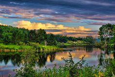 Summer Views in Presque Isle, Maine