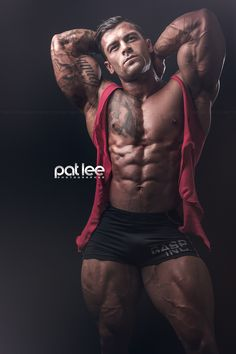 Pure Testosterone / Don't wish, just do it : Aaron Polites by Pat Lee