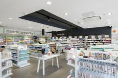 Pharmacie de l'Atlantique. Espace dermatologie.