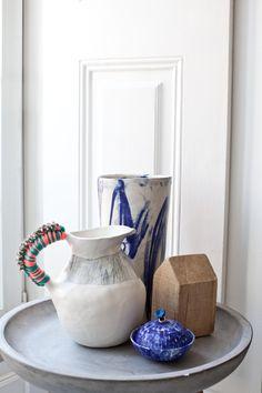 Anna westerlund handmade ceramics WATERMELON collection. Photo credit Sanda Pagaimo