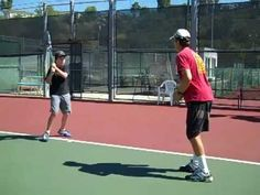 sveto's tennis footwork drills( part II) - YouTube