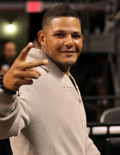 Yadi :))....... Not a Giant but a great player and his brother was a Giant..... I love his brother Bengie