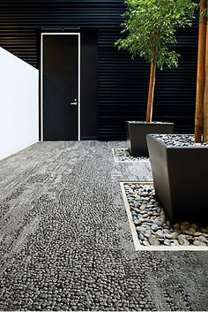 Interface Human Nature Collection Lovely use of texture and monochromatic color. Landscape Architecture, Landscape Design, Garden Design, Patio Interior, Interior And Exterior, Commercial Carpet, Nature Collection, Carpet Tiles, Human Nature