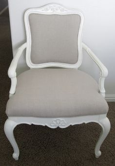 Chair redo - I LOVE this. I have the perfect chair to try this on.