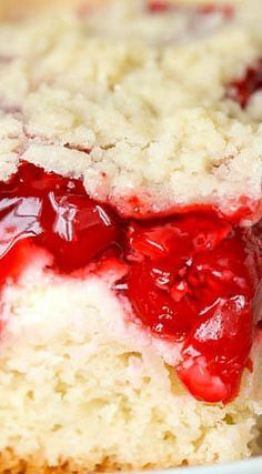 Glazed Cherry Coffee Cake  Easy to make Its moist soft and