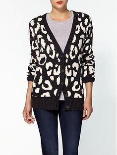 love this for fall...Hive & Honey Animal Cardigan | Piperlime