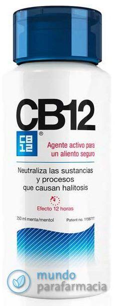 CB 12 Colutorio Halitosis para evitar el mal aliento CB-12 250ml