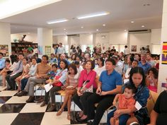 A crowd of 200 on the day! Welcome to our community! Berkeley International School's new parent orientation 2016-7 school year...
