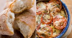 Don't throw away that old bread. It's the secret ingredient in a variety of light dishes. Make tomato/herb bread pudding