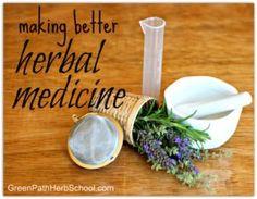Making Better Herbal Medicine