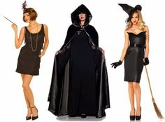 25 Halloween Costumes You Can Make with Your Little Black Dress