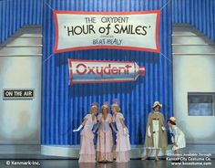 ANNIE Theatrical Backdrop Rentals by Kenmark Scenic Backdrops