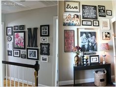10 Chic Ways to Decorate Your Entryway Wall 4