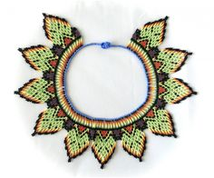 Chaquiras Bead Crochet, Crochet Earrings, Native American Beading, Beads, Beadwork, Diy, Jewelry, Necklaces, Bead Weaving