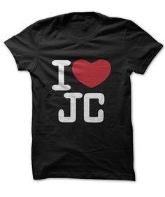 I HEART JC T-SHIRT. www.sunfrogshirts.com/Faith/i-love-jc-shirt.html?3298 $19