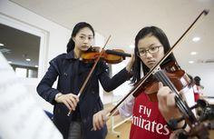 청심국제중고등학교 학생들의 다양한 동아리 활동 ^^