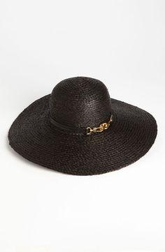 Rachel Zoe Woven Sun Hat available at Handbag Accessories, Fashion Accessories, Beach Vacation Outfits, Cool Hats, Fashion Essentials, Rachel Zoe, Sun Hats, My Style, Bikinis