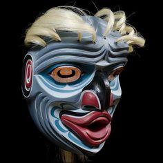 """Pugmis • Wild Man of the Deep"" Mask - Tom D. Hunt (Kwakwaka'wakw)"