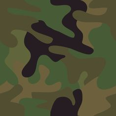 different camouflage pattern design vector set