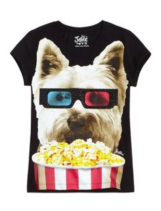 Dog Graphic Tee | Girls {category} {parent_category} | Shop Justice