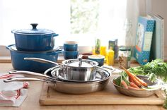 Weekly @LeCreuset giveaways at www.lecreusetpairings.com.  Don't forget to vote for your favorite blogger photo on Pinterest - http://pinterest.com/lecreuset/photo-contest-le-creuset-pairings/