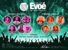 ♥ Festa Evoé agita noite paulistana na Véspera de Feriado ♥  http://paulabarrozo.blogspot.com.br/2016/10/festa-evoe-agita-noite-paulistana-na.html