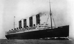 RMS MAURETANIA 1907