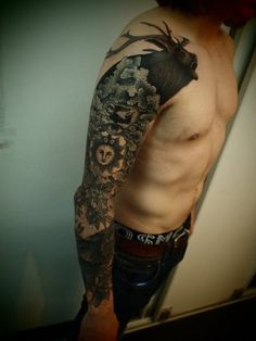 ...love the idea of turning the top of a sleeve into a silhouette