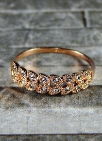 Talla 9 - Anillo trenzado Gold Rings, Rose Gold, Jewelry, Braided Ring, Stainless Steel, Jitter Glitter, Silver, Jewelery, Jewellery Making