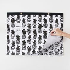 2015 Gift Wrap Calendar, $49 – too expensive, I think, but why don't they explore this option for large art prints sans calendar?