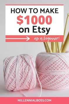 make money crafts Are you ready to take your Etsy - makemoney Make Money From Home, Way To Make Money, Make Money Online, How To Make, Making Extra Cash, Etsy Crafts, Frugal, Etsy Seller, Etsy Shop