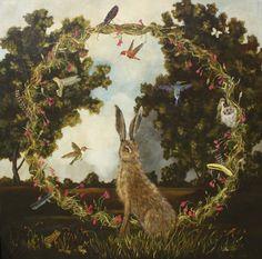 Hare Wreath / Anne Siems