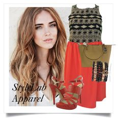 """SHOP - StyleLab Apparel"" by ladymargaret ❤ liked on Polyvore featuring Thml Clothing and Samantha Wills"