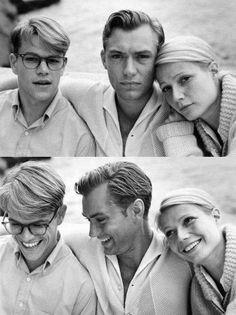 Matt Damon, Jude Law e Gwyneth Paltrow sul set de Il talento di Mr. Ripley