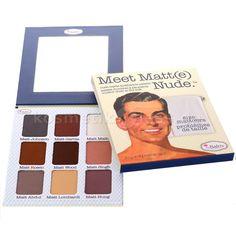 The Balm - Lidschattenpalette - Meet Matt(e) Nude - Kosmetik & Falsche…