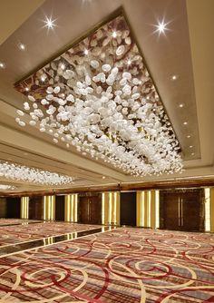 LASVIT Chandeliers, Luxury Chandelier, Chandelier Lighting, Lighting Concepts, Lighting Design, Ballroom Design, Tom Dixon, Hotel Lobby Design, Most Luxurious Hotels