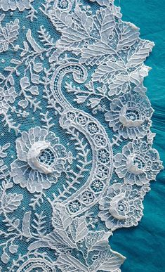 Point de Gaze ~ Needle Lace from Belgium ....
