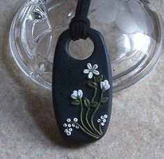 pinterest polymer clay jewelry tutorial | Polymer clay pendant | Pinterest Most Wanted