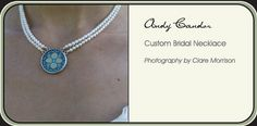 Beautiful bridal necklaces custom made for you by Shi Studio. www.shistudio.com Washer Necklace, Pendant Necklace, Bridal Necklace, Custom Jewelry, Wedding Photos, Necklaces, Weddings, Studio, Handmade
