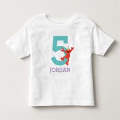 Sesame Street   Elmo - Cupcake & Confetti Birthday Toddler T-shirt - tap, personalize, buy right now!
