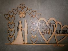 wedding hearts personalised to you